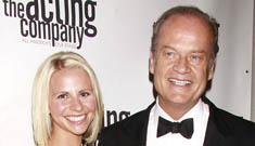 Kelsey Grammer is officially engaged to his new girlfriend & he's not even divorced yet