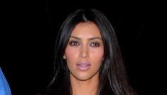 Reggie Bush wants a little less junk in Kim Kardashian's trunk
