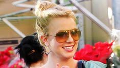 Britney loves Walmart, enthuses about her birthday trip to Mexico