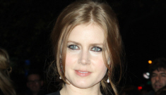 Amy Adams' black bat-wing Roland Mouret dress: chic or terrible?