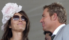 Liz Hurley is cheating on her husband with an Aussie cricket player (update)