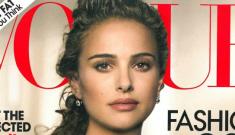 Natalie Portman covers the January Vogue: too beautiful or too weepy?