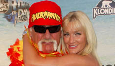 Fight breaks out at Hulk Hogan's wedding to daughter lookalike
