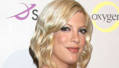 Tori Spelling to write a book about motherhood; will be in 90210 spinoff after all