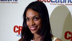 Rosario Dawson taking a break from acting to promote voter participation