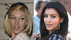 Shanna Moakler and Kim Kardashian in public bitch fight