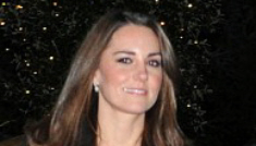 Kate Middleton disappoints in black & white during a charity outing with William