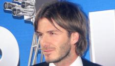 David Beckham makes Victoria weepy, emotional at UK event