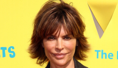 Lisa Rinna's newly repaired duck lips aren't healing properly