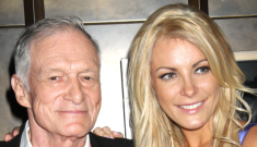 Hugh Hefner (84) proposed to Playmate Crystal Harris (24)