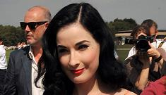Prince Charles accidentally booked Dita Von Teese for Prince Harry's birthday