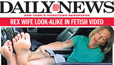 Wife of NY Jets coach stars in sexy foot fetish videos