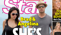 Power struggle at the Jolie-Pitts: Angelina walks out!