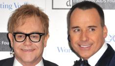 Elton John and David Furnish welcome a baby boy, born on Christmas