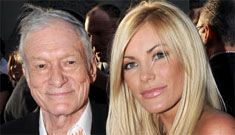 Holly Madison upset that Crystal Harris scored an engagement from Hef