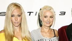 Kendra Wilkinson explains just how 3 girls share Hef