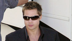 New HQs of Brad Pitt on the Oceans 13 set
