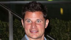 Nick Lachey has to pretend to be his own assistant
