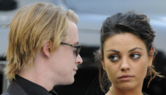 Mila Kunis & Macauley Culkin officially split up