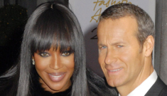 Naomi Campbell's fiancé spent Christmas with his wife and kids