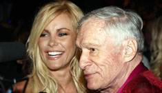 Hugh Hefner on his proposal to Crystal: he put the ring in a Little Mermaid music box