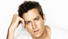 """Armie Hammer, hot guy: """"I've lost out on jobs because I'm six foot five."""""""