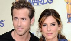"PopEater: Sandra Bullock & Ryan Reynolds are not a couple… ""yet"""