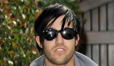 Pete Wentz is reading up on fatherhood. And watching movies