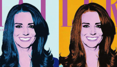 Kate Middleton gets the Warhol pop-art treatment: cute or unflattering?