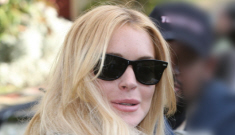 LMAO: Lindsay Lohan building privacy fence so Sam Ronson won't spy on her