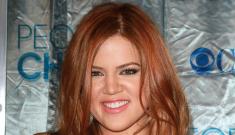 Khloe Kardashian goes red: funky shade or pretty cute?