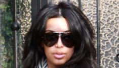Kim Kardashian's jacked face: same ol' katface, or Botox disaster?
