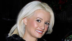 Holly Madison and Kendra Wilkinson respond to the news of Hef's engagement