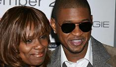 Usher rehires his momager