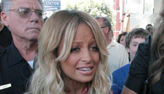 Nicole Richie pukes on the floor at a party