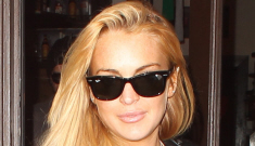 "Lindsay Lohan has a ""sober"" live-in girlfriend now, apparently"