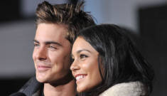 Zac Efron & Vanessa Hudgens are back together, seen publicly hooking up