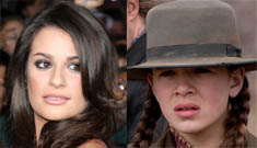 Lea Michele made 14 year-old True Grit star Hailee Steinfeld cry