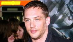 Tom Hardy is not Lindsay Lohan's sober mentor, thank God