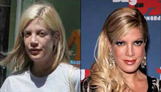 Stars with and without makeup