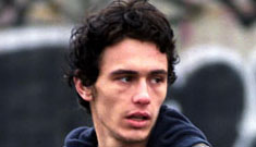 James Franco says being homeless isn't so hard