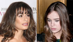 Lea Michele responds to story about snubbing Hailee Steinfeld: it wasn't my fault