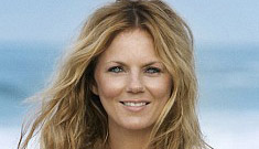 Geri Halliwell claims she only does non-strenuous yoga & that she eats junk food