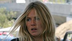 Sienna Miller gets hysterical on the paparazzi