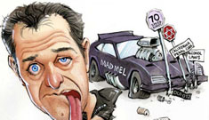 The Best Mel Gibson political cartoons