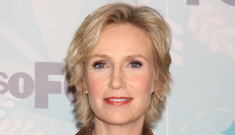 Jane Lynch blames studios for lack of roles for openly gay actors