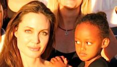 ITW: Empress Zahara demands Brangelina adopt a Namibian orphan girl