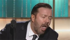 Ricky Gervais' Gay Scientologist joke at the Globes: did he go too far?