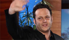 Vince Vaughn gushes about his new wife and baby on Ellen