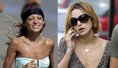 Nicole Richie and Keira Knightley are deathly thin